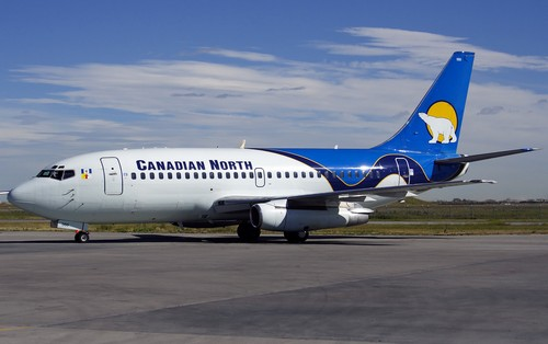 самолет Canadian North
